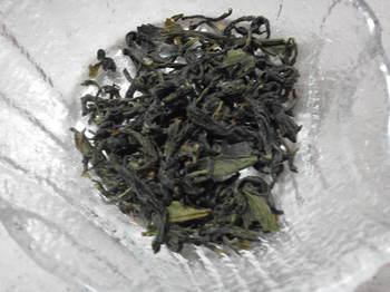 尾さんから頂いたお茶の葉