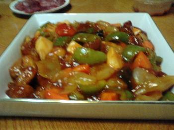 小澤さん作酢豚