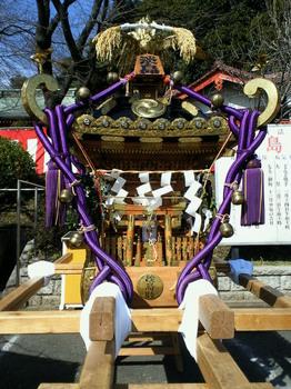 淡島社神輿